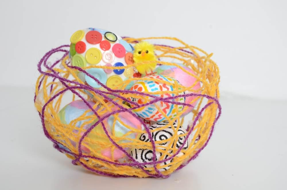 Easter crafts basket