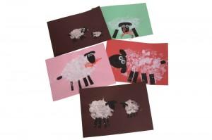 finger print sheep