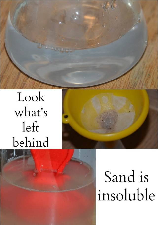 Primary Science - Filtering Experiment