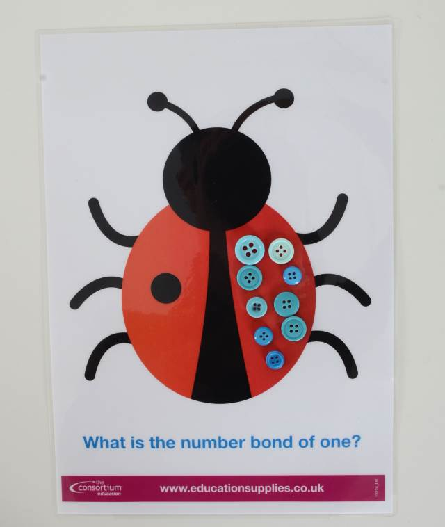 Number bonds to 20 Ladybird printables