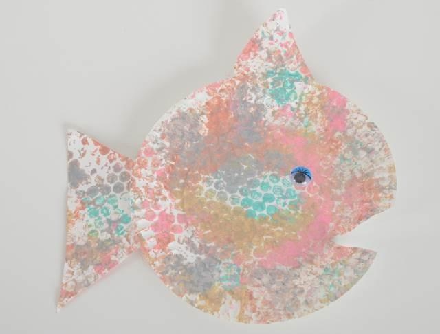 bubble wrap print fish