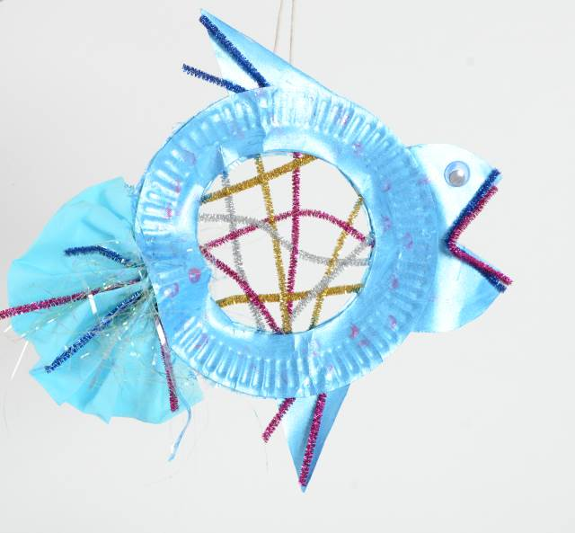 paperpalte fish craft