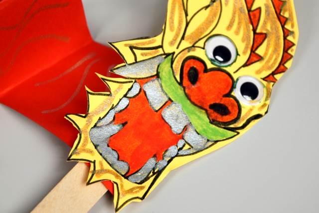 dragon puppets