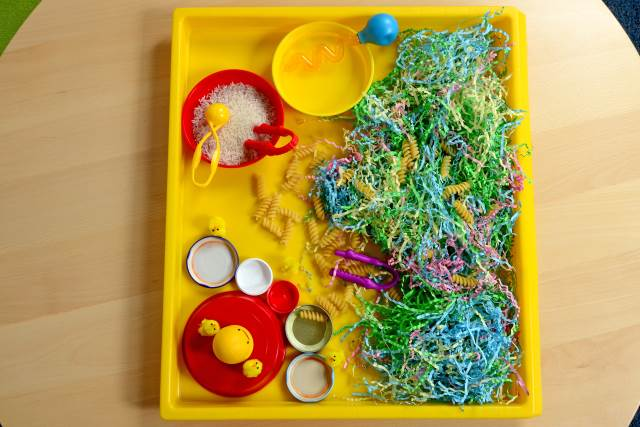 Easter activity tray