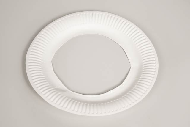 paper plate for garland