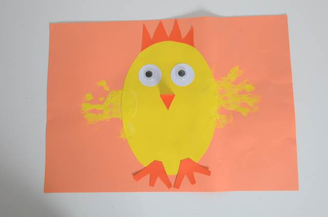 Easter Craft Hand And Finger Printing Early Years Inspiration