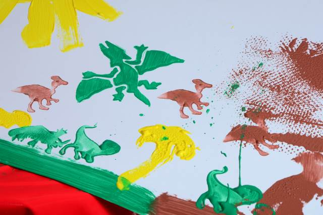 Dinosaur creation station picture