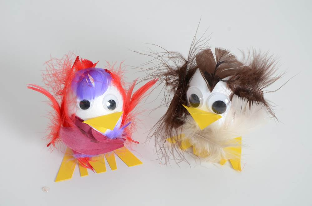 Easter chicks craft
