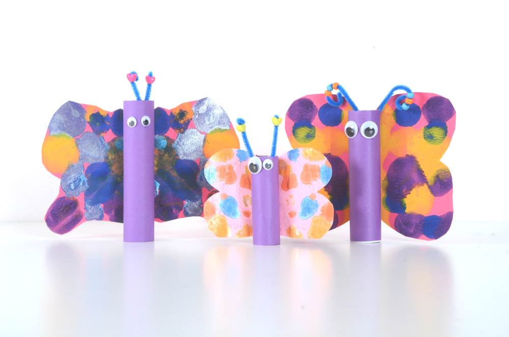 Butterfly crafts for Early Years