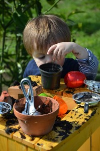 Outdoor learning- Mud Kitchens