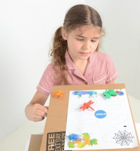 Minibeast maze magnet