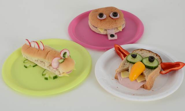 EYFS Healthy Eating Activities - Monster Sandwiches