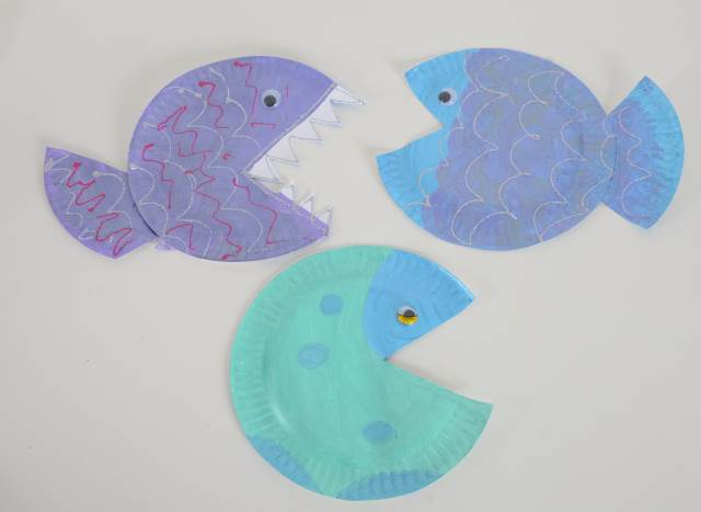 7 Under The Sea Paper Plate Crafts Early Years Inspiration