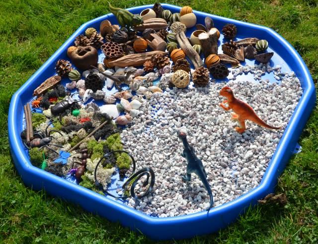 8 Dinosaur Small World Play Ideas Early Years Inspiration