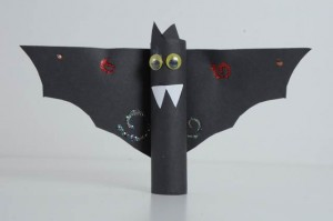 bat craft - Halloween