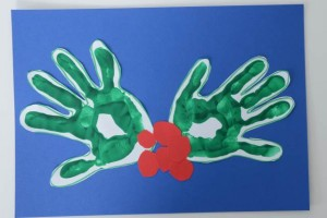 hand print holly