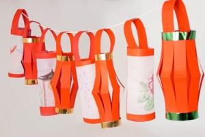 Watercolour Chinese Lanterns