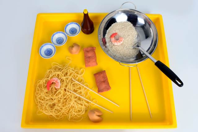 Chinese New Year Sensory Tray
