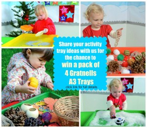 Gratnells activity tray