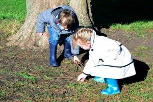 outdoor learning EYFS