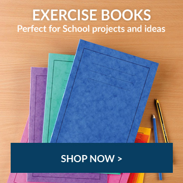 shop exercise books perfect for school projects