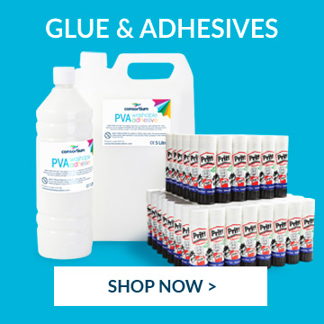 shop glue and adhesives  perfect for school projects