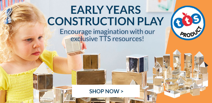 Encourage imagination with early years construction play
