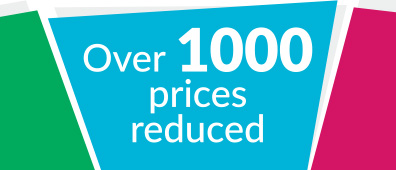 Over 1000 prices reduced