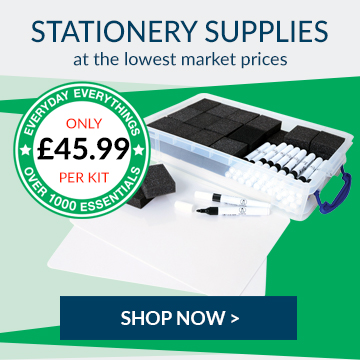 Shop our wide range of stationery and office resources.
