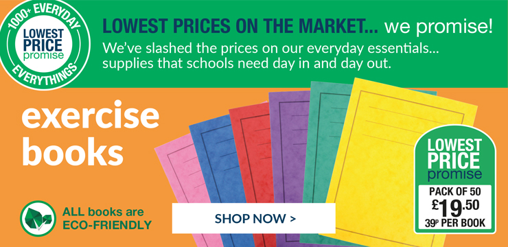 Best offers for exercise books! shop now!
