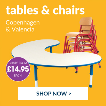 Shop our wide range of classroom tables and chairs