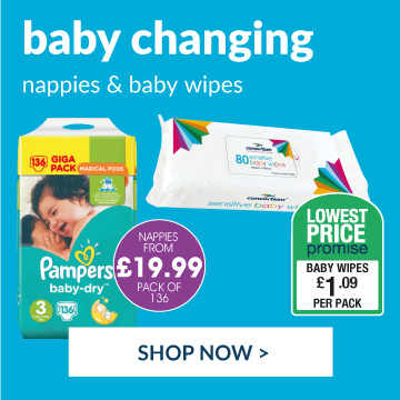 Shop our wide range of baby changing essentials