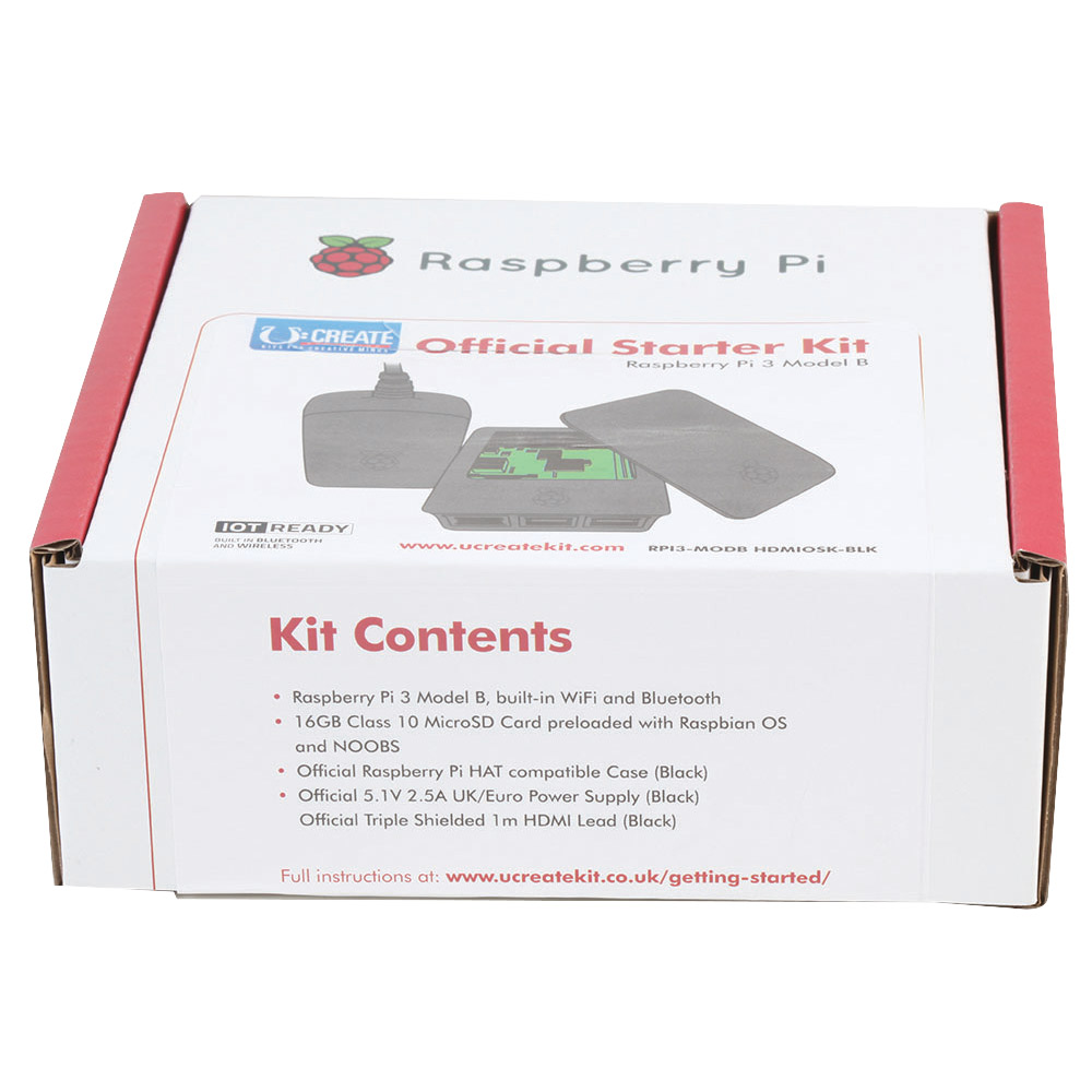 Raspberry Pi® 3 Starter Kit - Raspberry Pi - Computing - Curriculum
