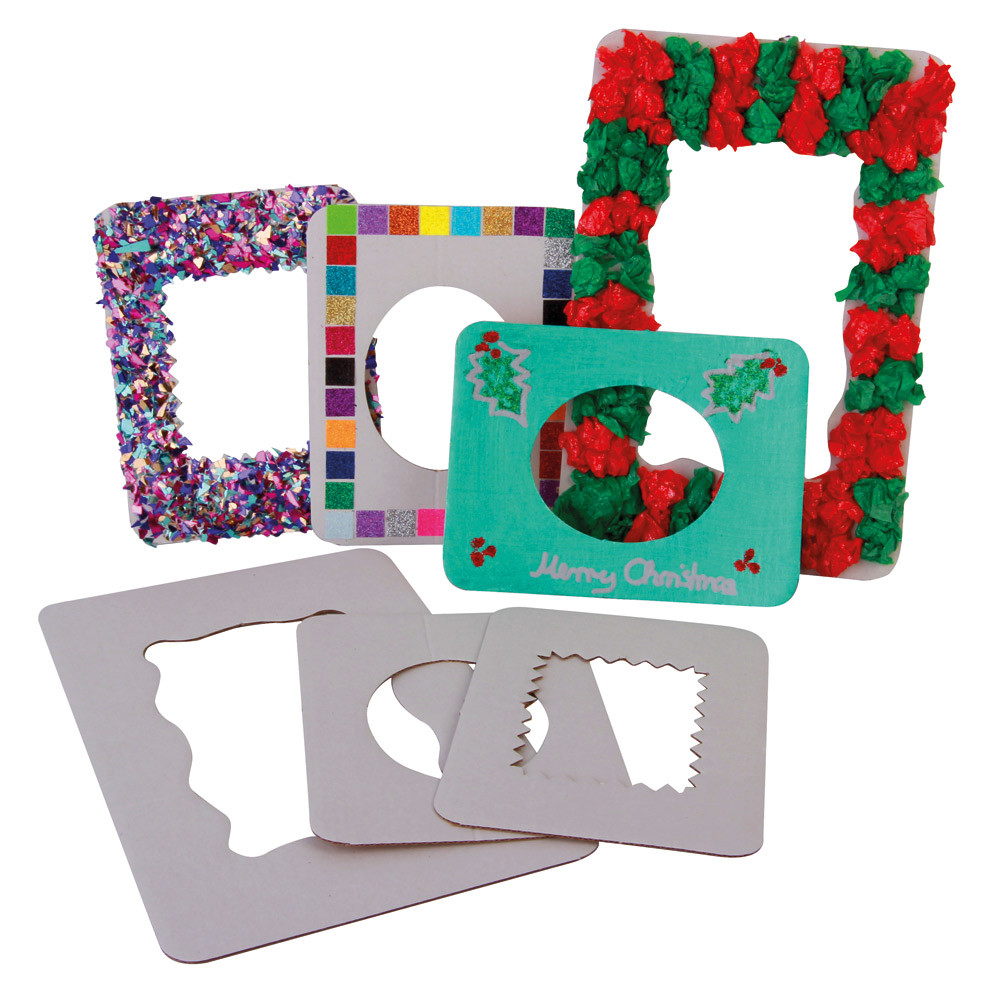 Decorate Your Own Cardboard Frames Young Craft Activities Craft