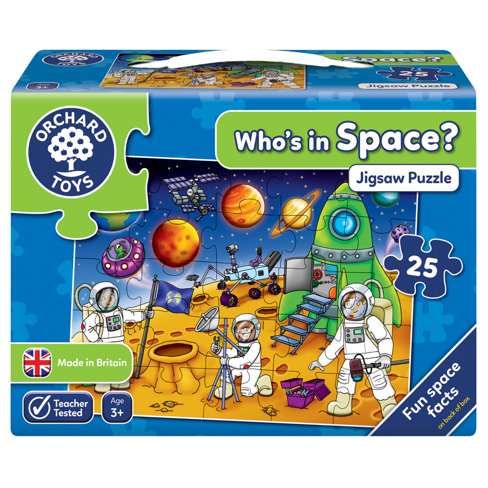 Who S In Space Puzzle Puzzles Games And Puzzles