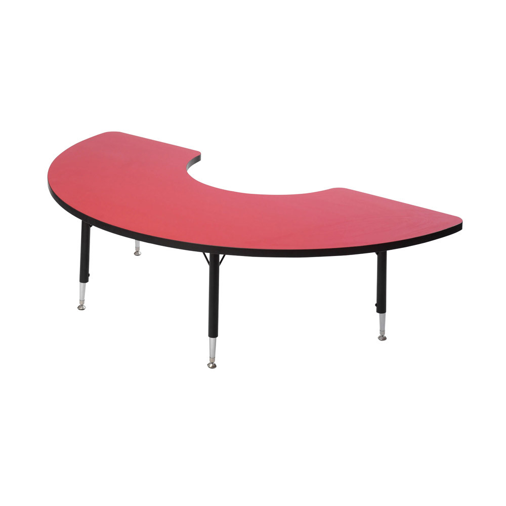 Arc Shape Height Adjustable Table
