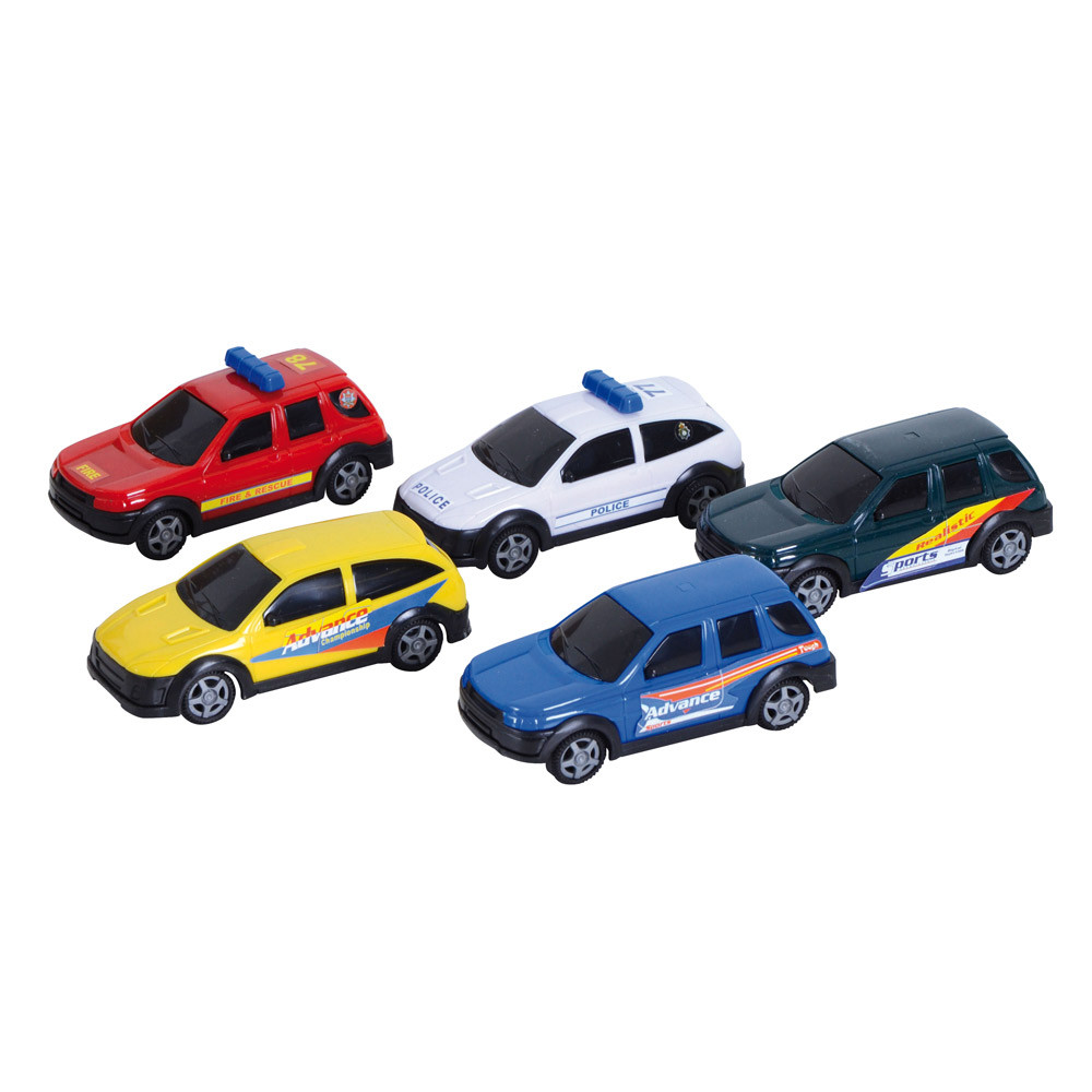 Set of 5 Diecast Cars