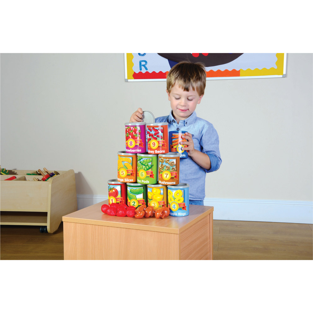 1-10 Counting Cans