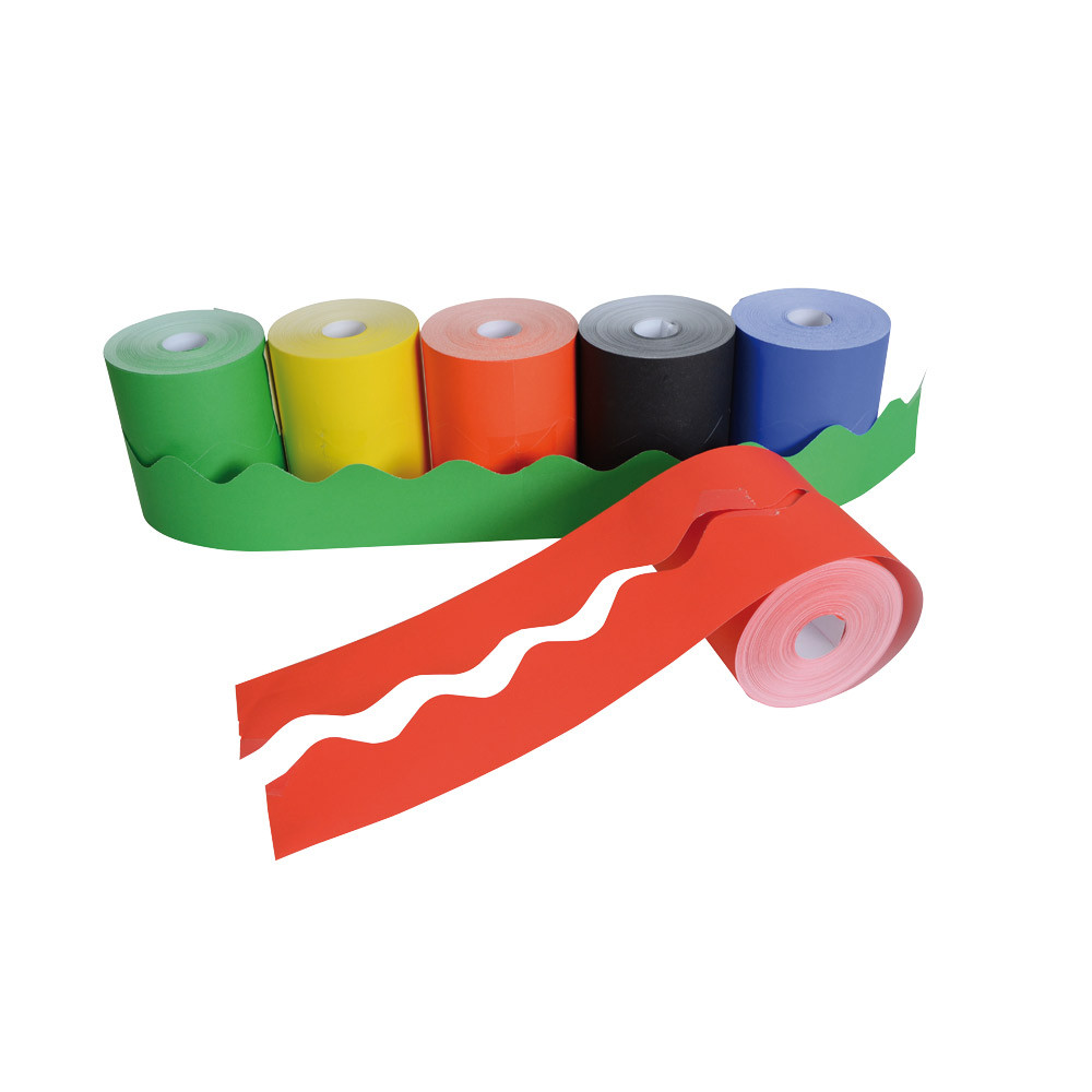 Scalloped Border Rolls