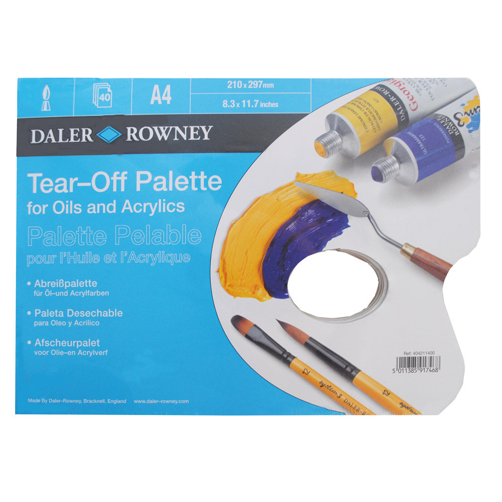 Tear-Off Disposable Palette
