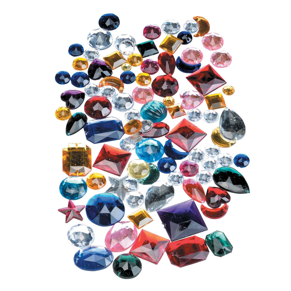Acrylic Gemstones Collage Packs Amp Other Materials