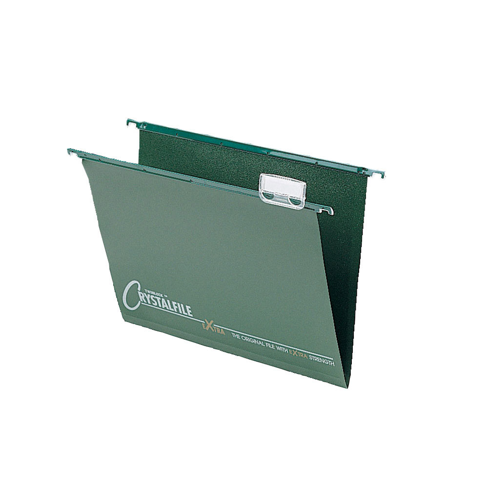 Crystalfile Extra Strength Foolscap Suspension Files