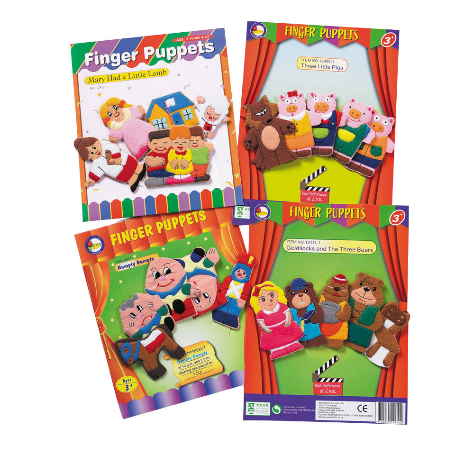 Nursery Rhyme Finger Puppets