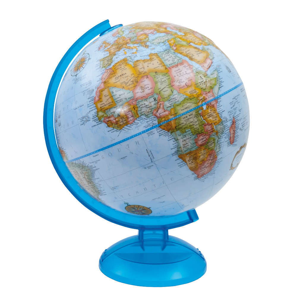 Globe from Recycled Materials