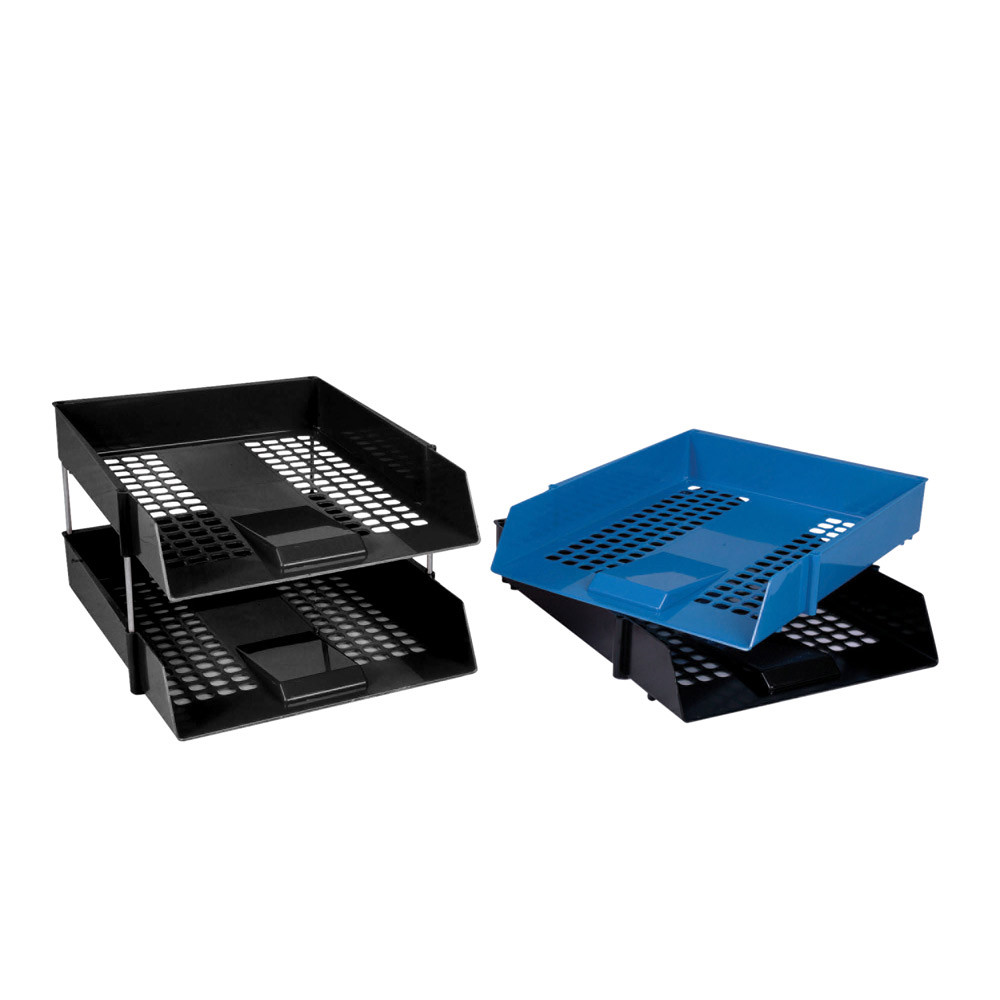 Value Plastic Letter Trays & Risers