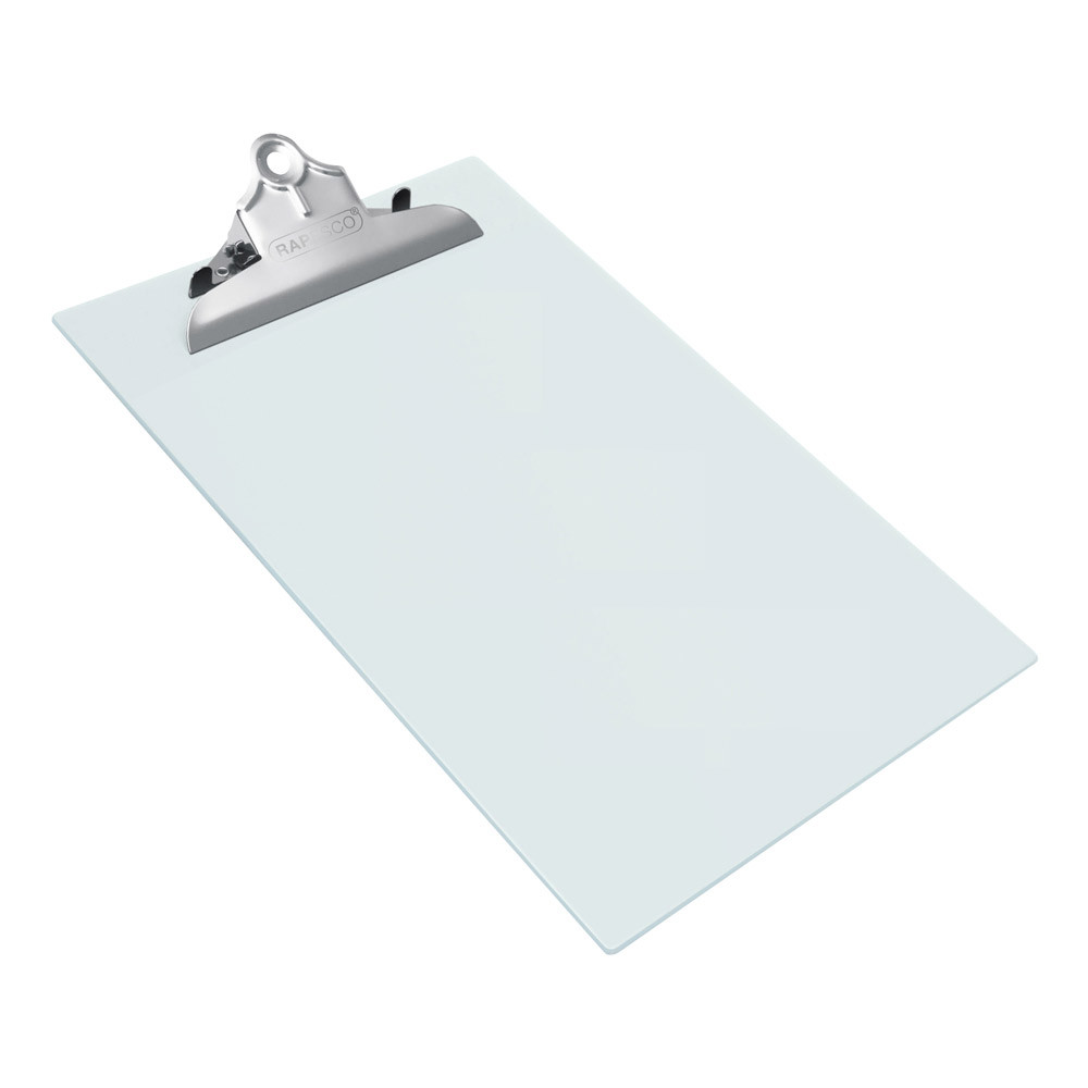 Rapesco Heavy Duty Frosted Transparent A4 Clipboard