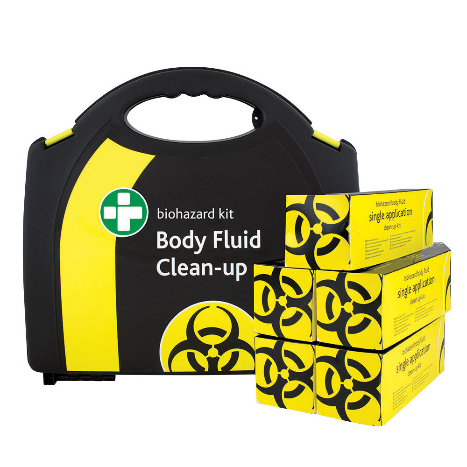 Biohazard Spillage Clean-Up Kits