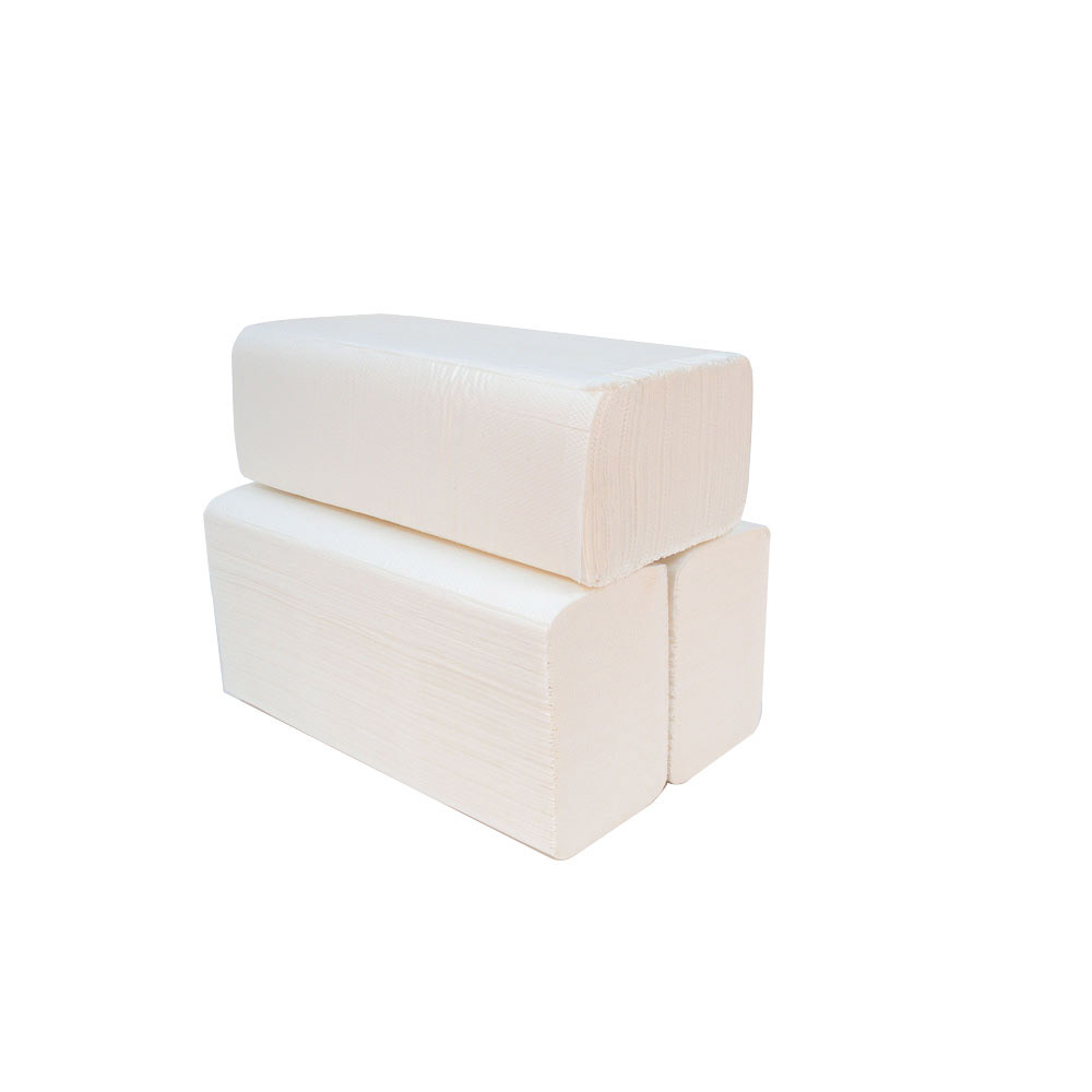 Consortium White Z Fold / Zigzag Fold Hand Towels 2 Ply