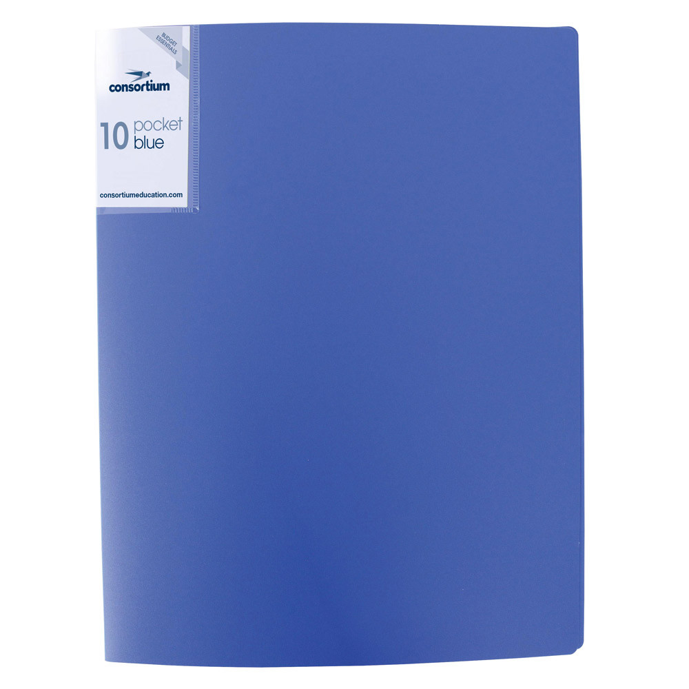 Budget Essentials A4 Soft Cover Display Book - 40 Pockets