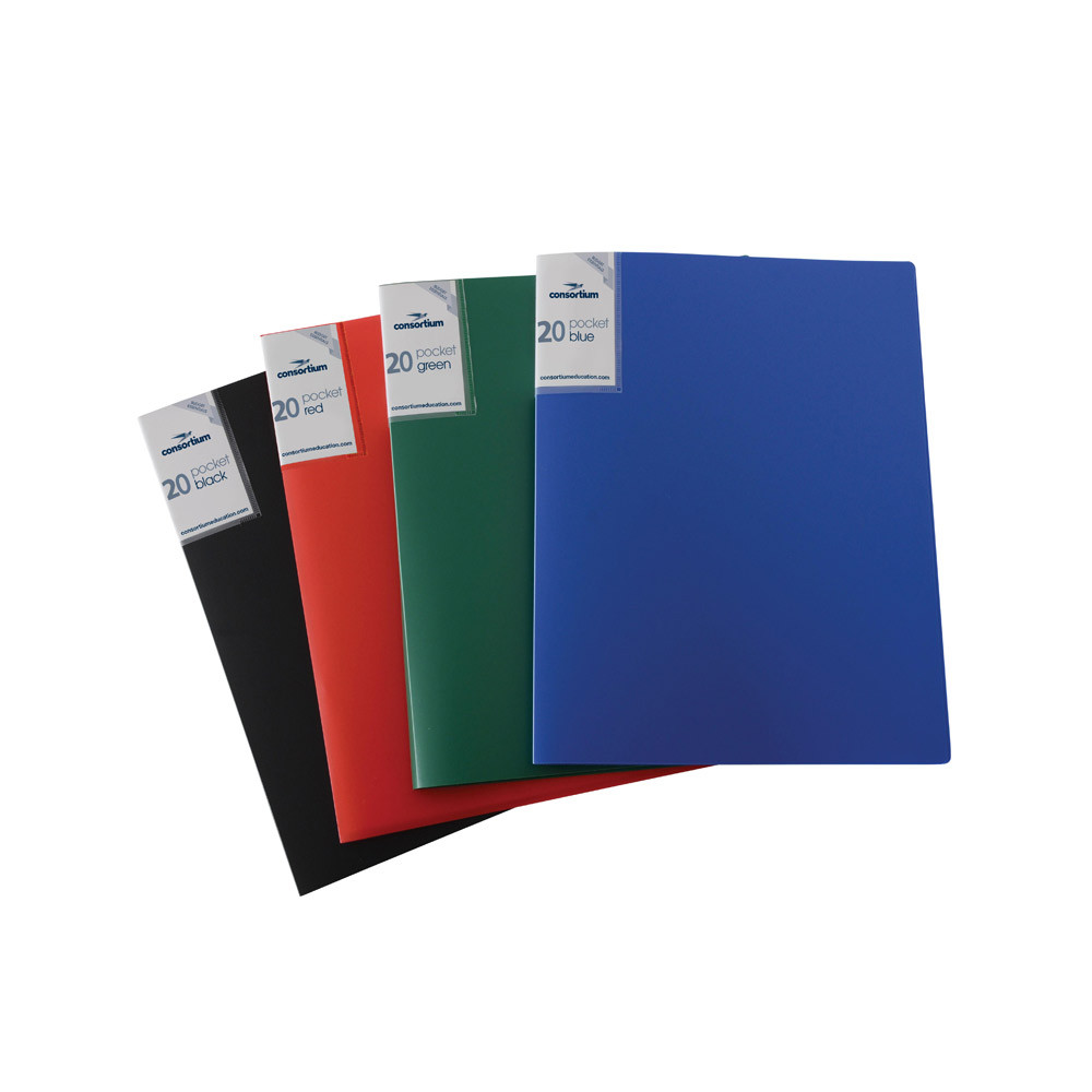 Value A4 Soft Cover Display Book - 20 Pockets